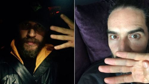 Tom Hardy and Russell Brand #1in4 pictures