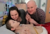 DWP scrap a family's benefits because their severely disabled son is too weak to leave Hospital