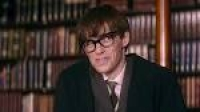 stephen hawking in the theory of everything poster