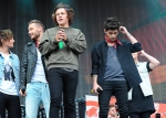 one direction on stage at big weekend