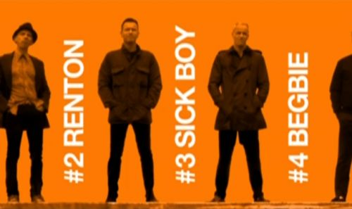 T2: Trainspotting logo