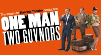 one man, two guvnors' logo