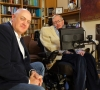 Dara O Briain Interviews Stephen Hawking for the BBC