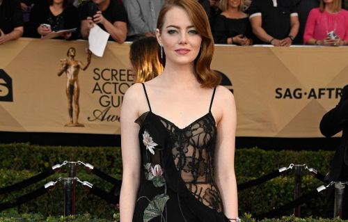 Emma Stone at the Screen Actors Guild awards