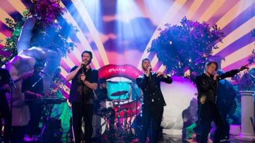 Take That playing Radio 2 in Hyde Park