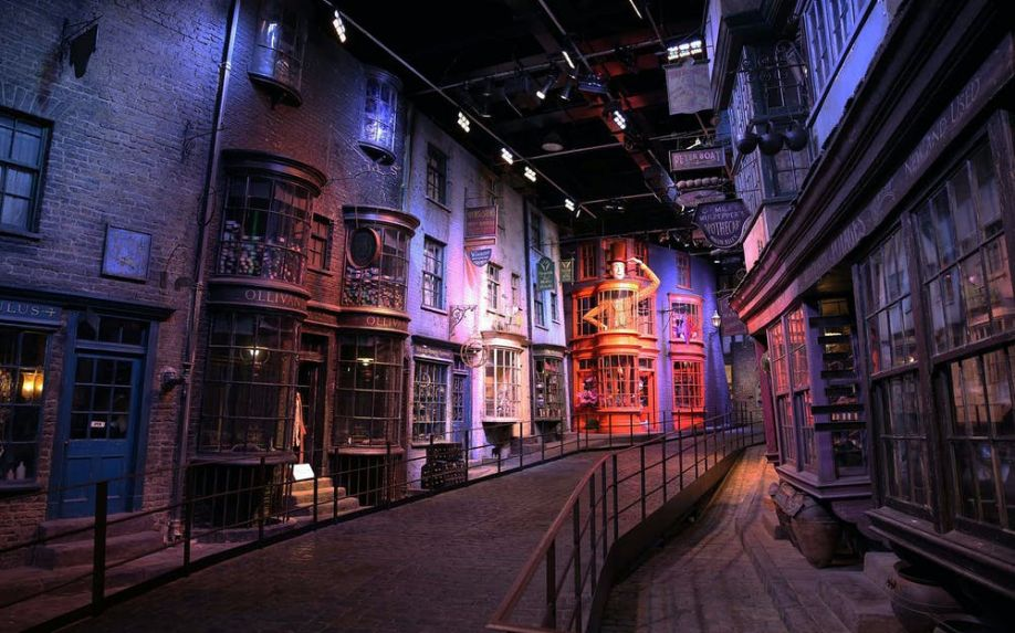 attraction at warner bros studio tour