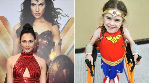 picture of Carmela Chillery-Watson and image of gal gadot
