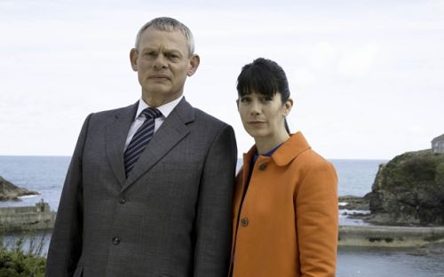 Shot from Doc Martin series 7