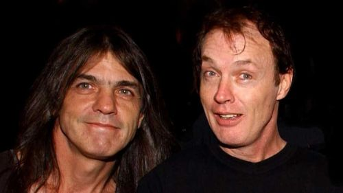 Angus and Malcolm Young