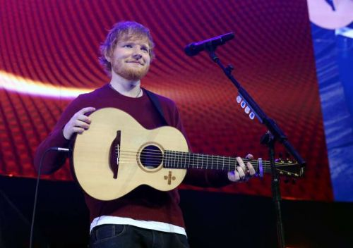 ed sheeran playing muisc 4 mental health concert