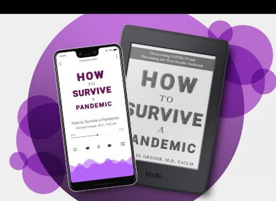 cover of how to survive a pandemic book