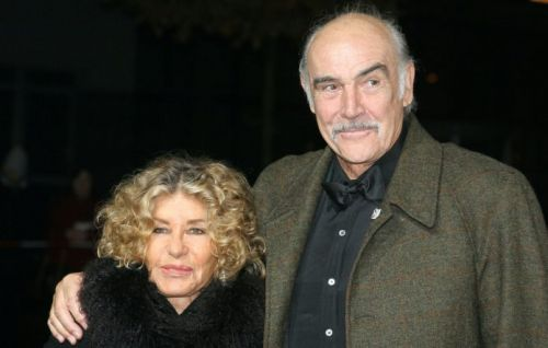 Sean Connery with his wife Micheline Roquebrune